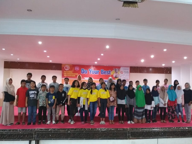 Anak Asuh Mataram Ikut Seminar Motivasi 'Do Your Best'